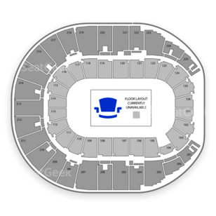 Verizon Arena Seating Chart Dance Performance Tour