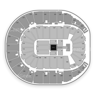 Verizon Arena Seating Chart Wrestling