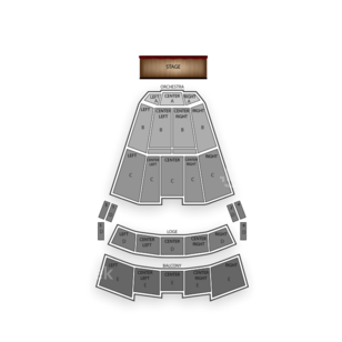 Times Union Ctr Perf Arts Moran Theater Seating Chart Concert