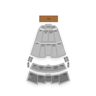 Moran Theater Seating Chart Concert