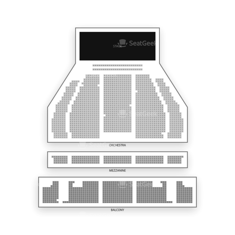 Crown Complex Seating Chart Dance Performance Tour