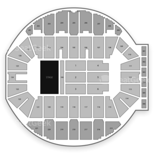 Crown Complex Seating Chart Concert