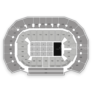 INTRUST Bank Arena Seating Chart Comedy