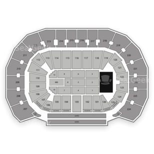 INTRUST Bank Arena Seating Chart Classical