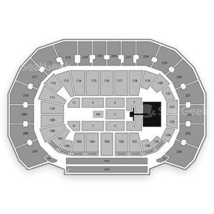 INTRUST Bank Arena Seating Chart Concert