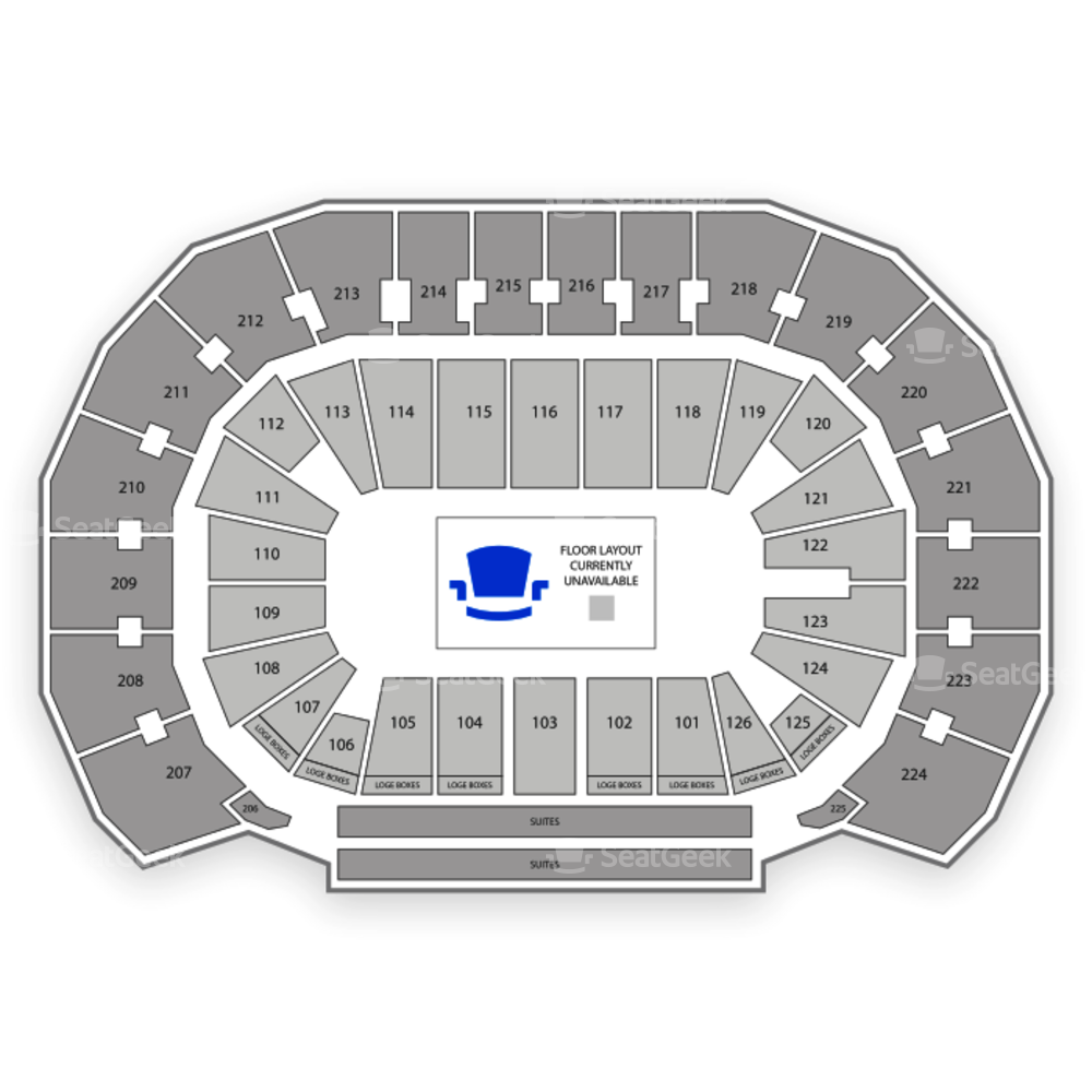 INTRUST Bank Arena Seating Chart Parking