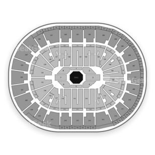 SAP Center Seating Chart MMA