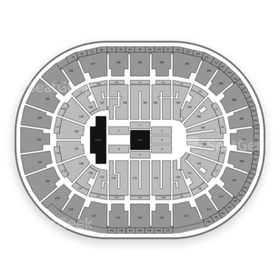 SAP Center Seating Chart Wwe