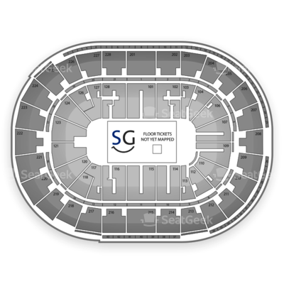 SAP Center seating chart Marvel Universe Live