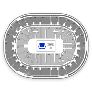 SAP Center Seating Chart Music Festival