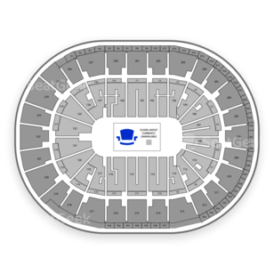 SAP Center Seating Chart NFL