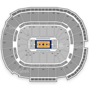 NCAA Mens Basketball Tournament Seating Chart