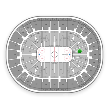 Sap Center Section 107 Seat Views Seatgeek
