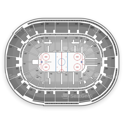 SAP Center seating chart San Jose Sharks
