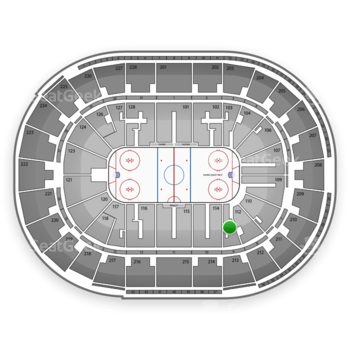 San Jose Sharks at SAP Center Section 113 View