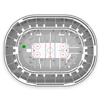 San Jose Sharks at SAP Center Section 123 View