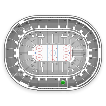 San Jose Sharks at SAP Center Section 214 View