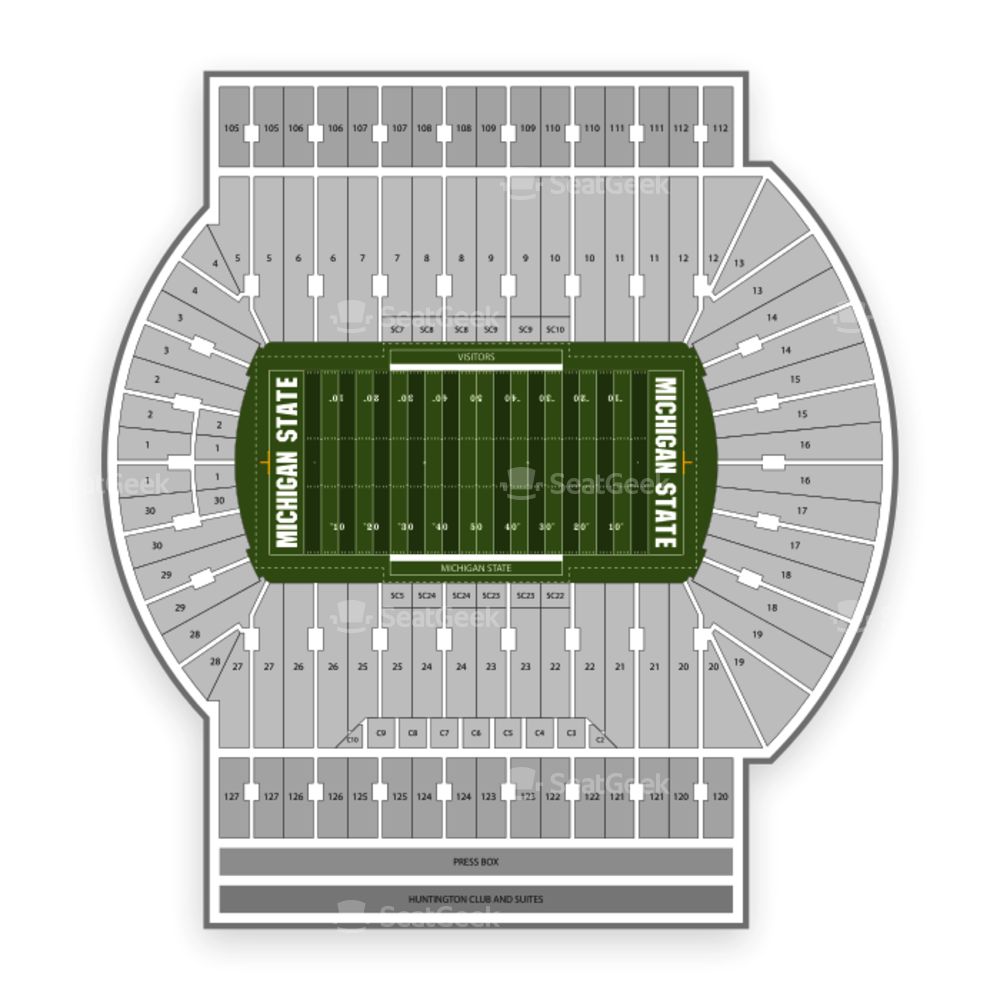 Spartan Stadium Seating Chart Concert