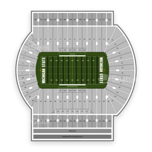 Spartan Stadium (Michigan) Seating Chart Parking