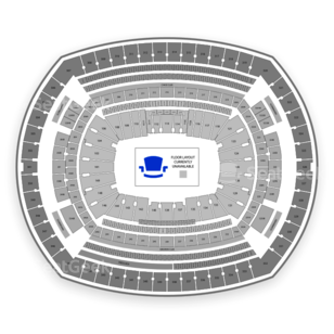 MetLife Stadium Seating Chart Music Festival