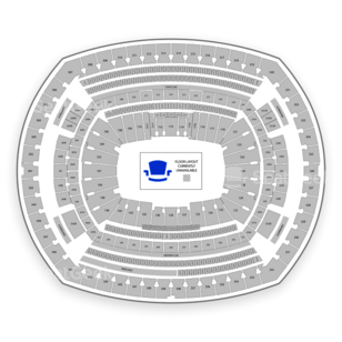 MetLife Stadium Seating Chart Wwe