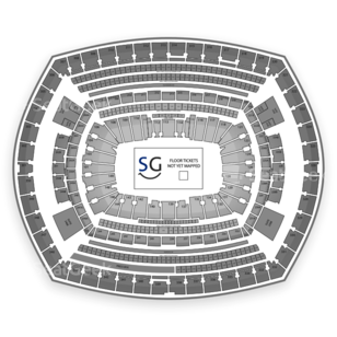 MetLife Stadium Seating Chart Concert