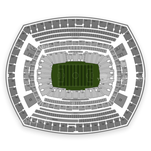 MetLife Stadium Seating Chart Soccer