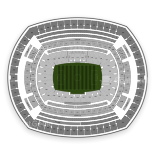 MetLife Stadium Seating Chart International Soccer