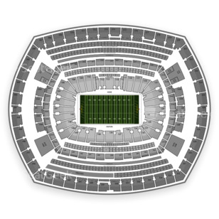 MetLife Stadium Seating Chart NFL