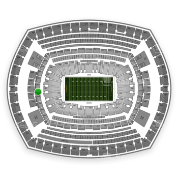 NFL at MetLife Stadium 250 A View