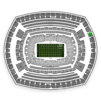 NFL at MetLife Stadium Section 323 View