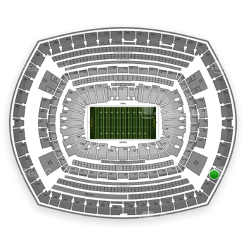 NFL at MetLife Stadium Section 330 View