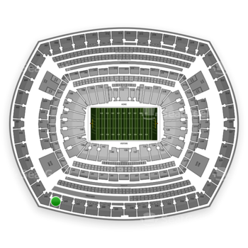 NFL at MetLife Stadium Section 344 View