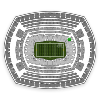 NFL at MetLife Stadium Section 121 View