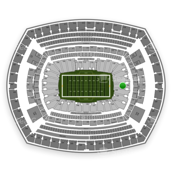 NFL at MetLife Stadium Section 126 View