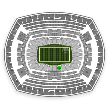 NFL at MetLife Stadium Section 137 View