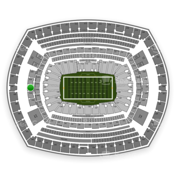 NFL at MetLife Stadium Section 201 View