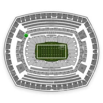 NFL at MetLife Stadium 206 A View