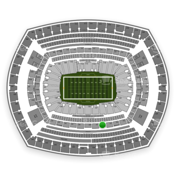 NFL at MetLife Stadium Section 236 View