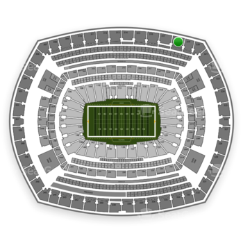 NFL at MetLife Stadium Section 318 View
