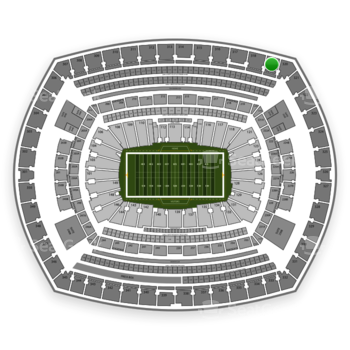 NFL at MetLife Stadium Section 319 View