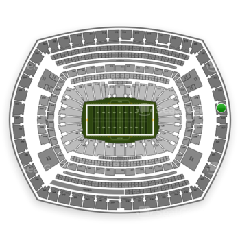 NFL at MetLife Stadium Section 325 View