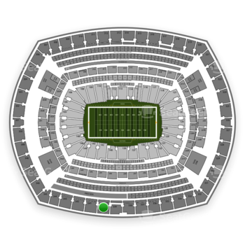 NFL at MetLife Stadium Section 340 View