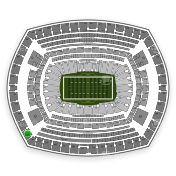 NFL at MetLife Stadium Section 346 View