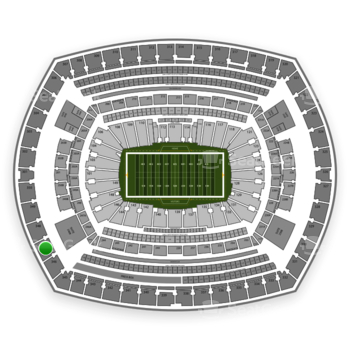 NFL at MetLife Stadium Section 347 View