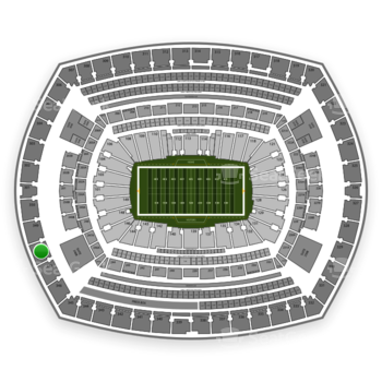 NFL at MetLife Stadium Section 348 View