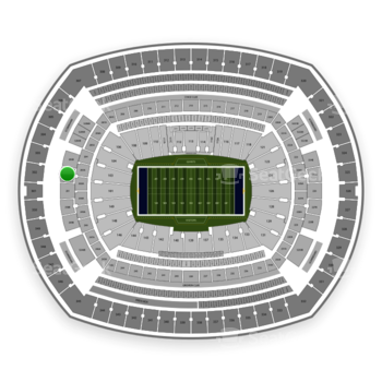 New York Giants at MetLife Stadium 202 B View
