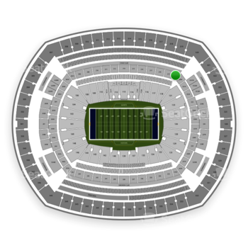New York Giants at MetLife Stadium 220 C View