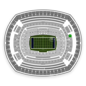 New York Giants at MetLife Stadium 224 B View