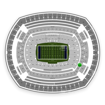 New York Giants at MetLife Stadium 230 A View